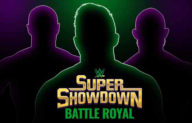 Ganador del Battle Royal en Super ShowDown