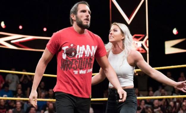Johnny Gargano sobre el original Halftime Heat