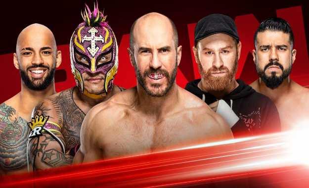 Gauntlet match y combate titular para el WWE RAW de esta noche