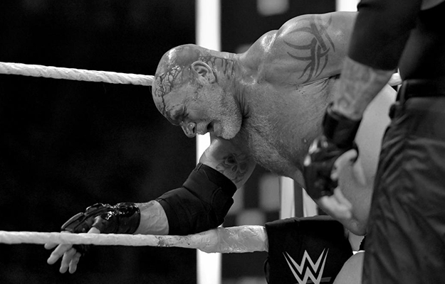 Goldberg se lesiona en Super ShowDown