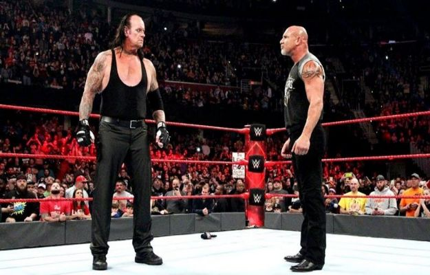 Goldberg The Undertaker