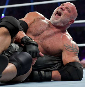 Goldberg colapsa en Super ShowDown