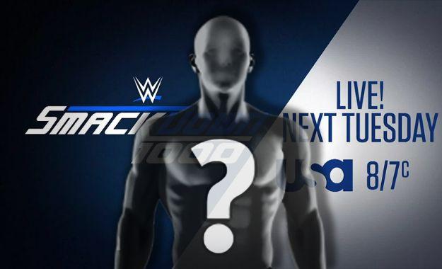 Gran nombre en el Backstage de SmackDown Live 1000
