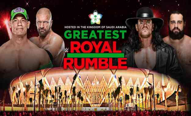 ex campeones confirmados para el Greatest Royal Rumble