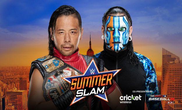 Hardy vs Nakamura United States SummerSlam