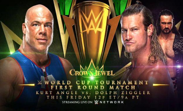 Hasta donde podría llegar Kurt Angle en la WWE World Cup