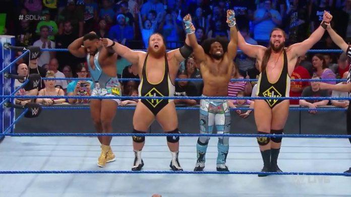 Heavy Machinery y New Day derrotan a Daniel Bryan, Rowan, KO y Sami Zayn en WWE SmackDown Live