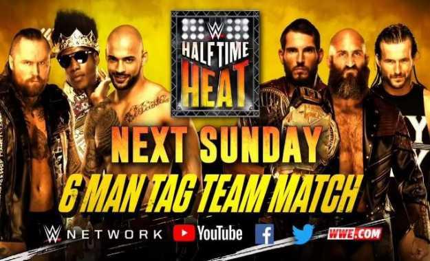 Historia del Super Bowl WWE Halftime Heat