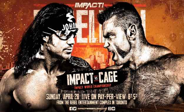 Impact World Title Match anunciado para el PPV Rebellion
