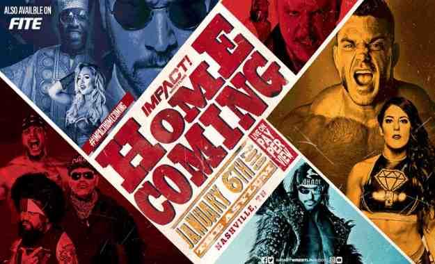 Impact Wrestling Homecoming 2019 (Coberturas y resultados en directo)