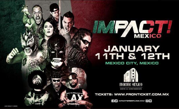Impact se presenta en México por 2da ocasión