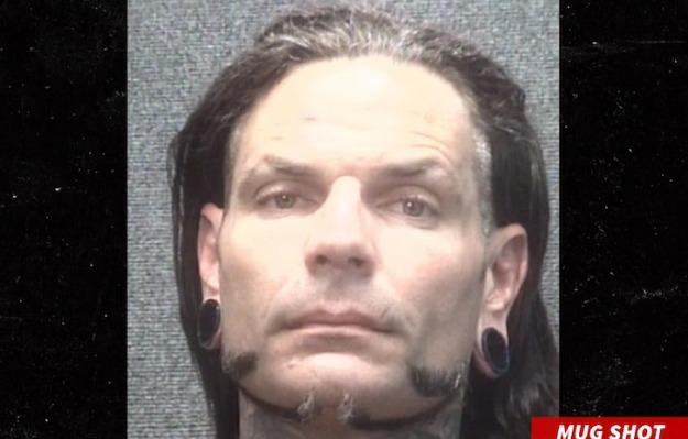 Jeff HArdy Arrestado