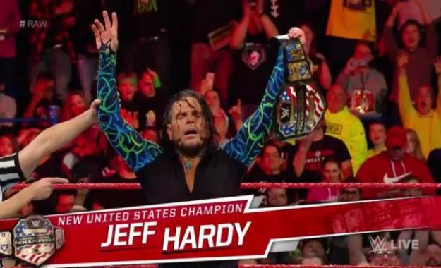 Jeff Hardy USA Champion