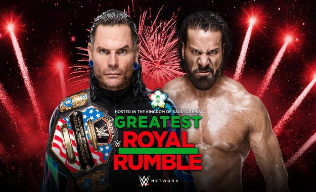 Jeff Hardy defenderá su USA Champ ante Jinder Mahal en Greatest Royal Rumble