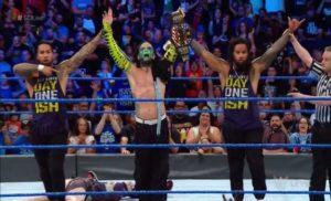 Jeff Hardy retiene el campeonato de los Estados Unidos en Smackdown
