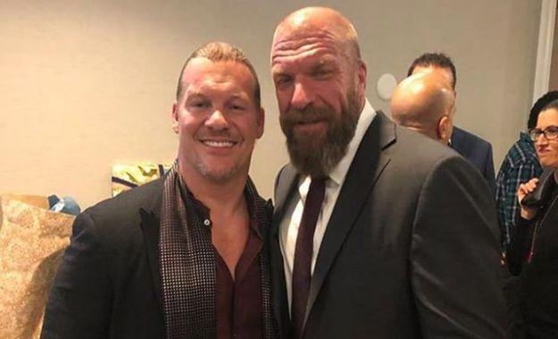Jericho y Triple H
