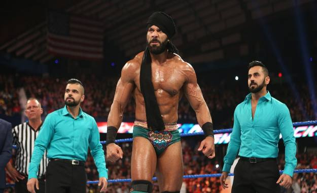 Jinder Mahal y The Singh Brothers pasan al roster de WWE Smackdown Live