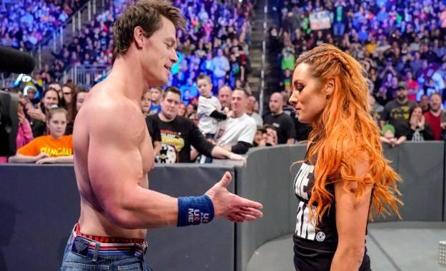 John Cena habla sobre Becky Lynch