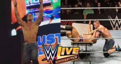 Cena se enfrentó a Rusev en Detroit