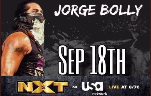 Hijo del Fantasma debutara en NXT como Jorge Bolly