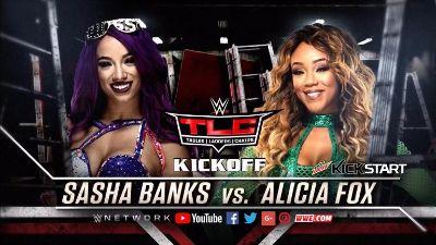 TLC Kickoff Sasha vs Fox