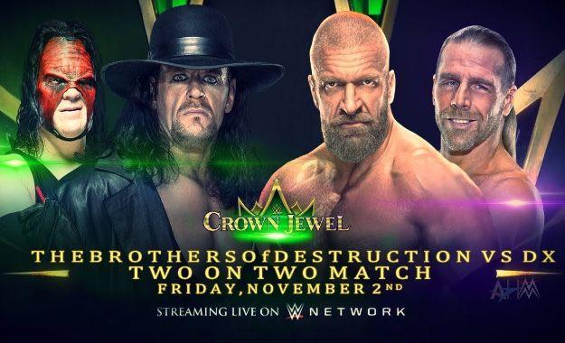 Kane sigue luchando en WWE Crown Jewel