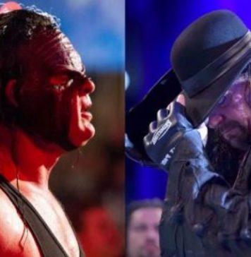 Kane vs. The Undertaker Wrestlemania 35