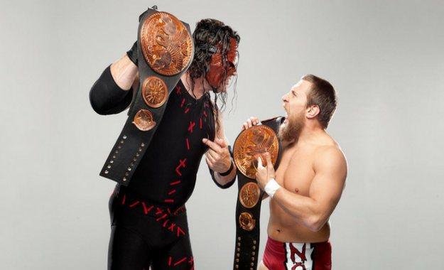 Kane y Daniel Bryan en Team Hell No