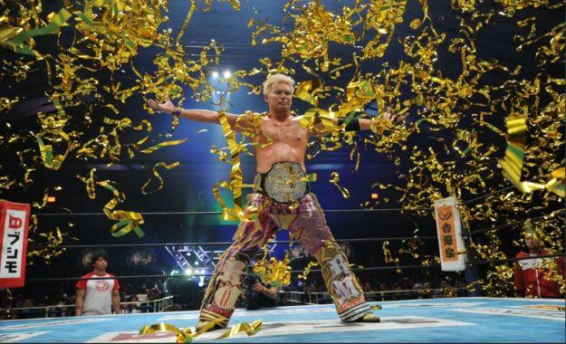Kazuchika Okada llega a la Arena Mexico