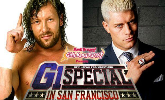 Kenny Omega vs. Cody para G1 Special en San Francisco