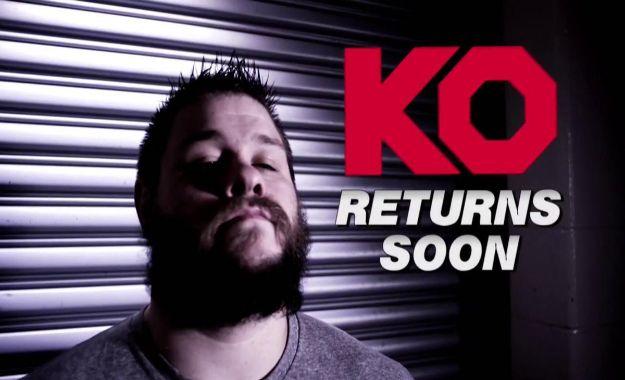 Kevin Owens hará pronto su regreso a WWE RAW