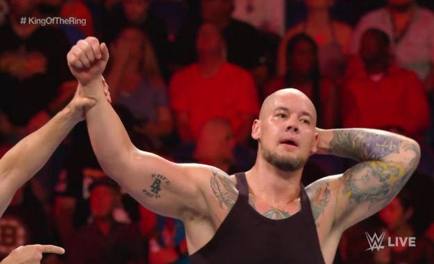 King Of The Ring 2019_ Baron Corbin derrota a The Miz en WWE RAW