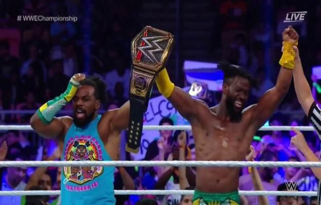 Kofi Kingston retiene el WWE Championship en WWE Super Show Down