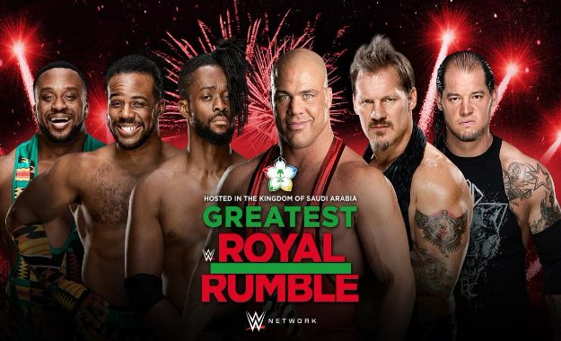 Kurt Angle Chris Jericho y más estrellas anunciadas al Greatest Royal Rumble  Así están las apuestas para The Greatest Royal Rumble