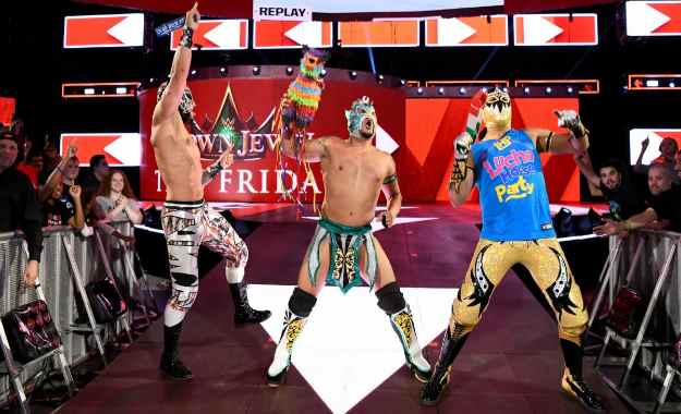 La Lucha House Party hace su debut en WWE RAW