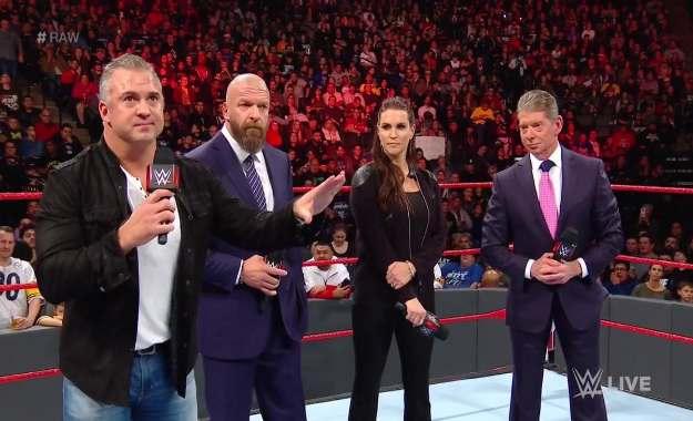 La familia McMahon y Triple H tendrán el control en RAW y Smackdown Live