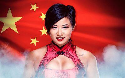 Xia Li lesionada de un hombro