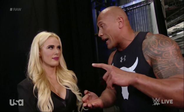Lana responde a los rumores de su storyline del sex tape con The Rock