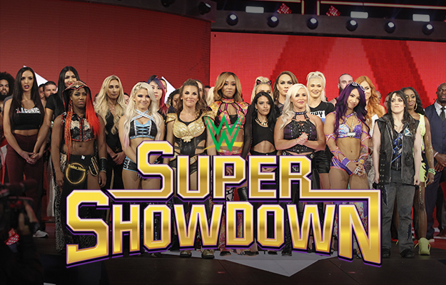 Las chicas de WWE lucharan en Super ShowDown