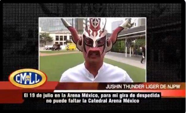 Liger se despedirá de México el 19 de Julio