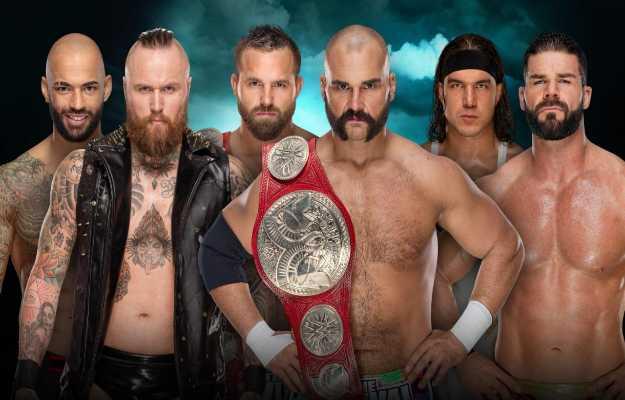 Los campeonatos por parejas de RAW serán defendidos en una triple amenaza en WWE Fastlane