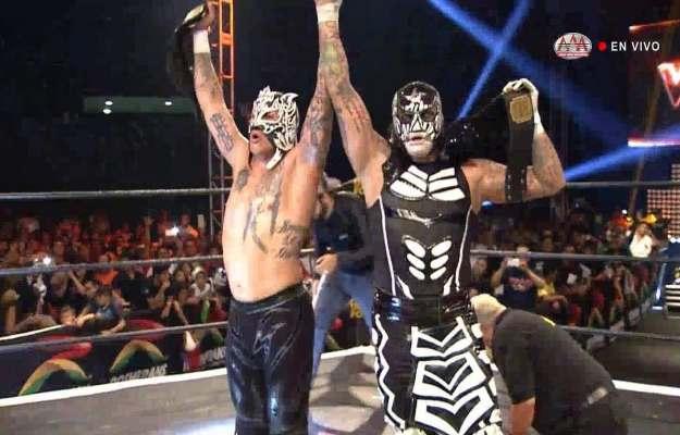 Lucha Brothers son los nuevos AAA World Tag Team Champions