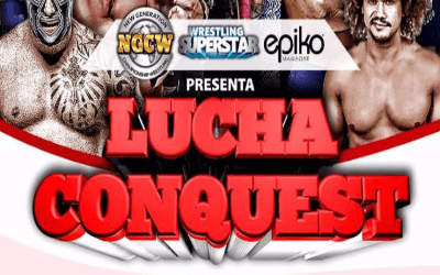 Lucha Conquest producido por Hugo Savinovich
