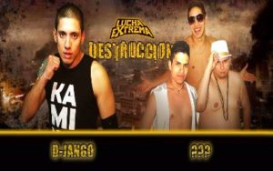 Lucha Extrema main event