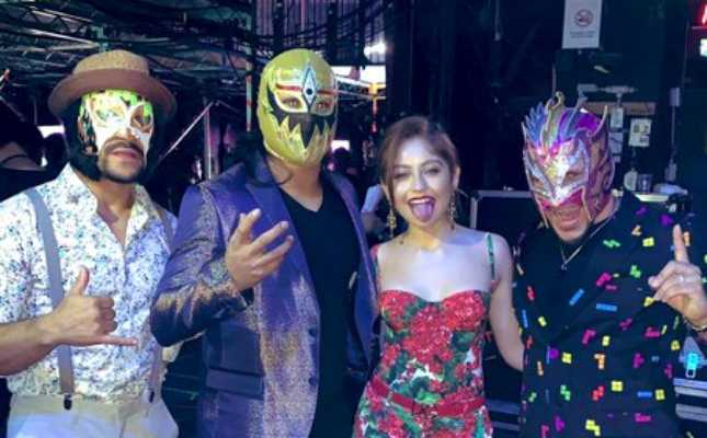 Lucha House Party Nickelodeon Kids Choice Awards | Lucha Family