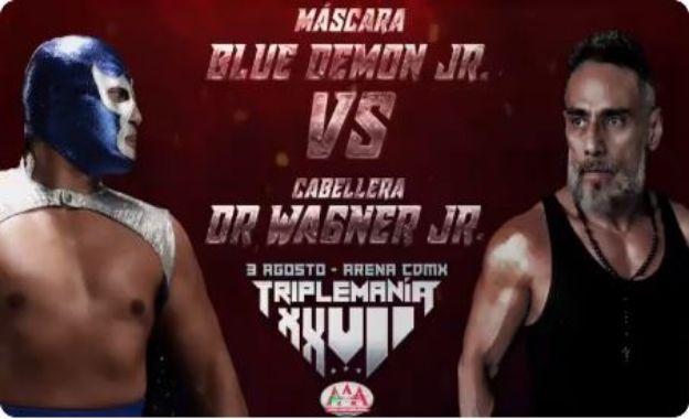 Máscara vs Cabellera en Triplemanía XXVI