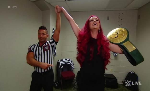 María Kanellis es la nueva campeona 24_7 de WWE en WWE RAW