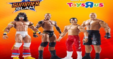 Toys R Us y WWE te regalan figuras de acción de Mattel en el nuevo concurso de Planeta Wrestling
