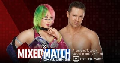 Mix Match Asuka & The Miz