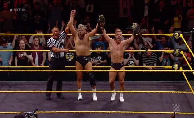 Mustache Mountain son los nuevos NXT Tag Team Champions